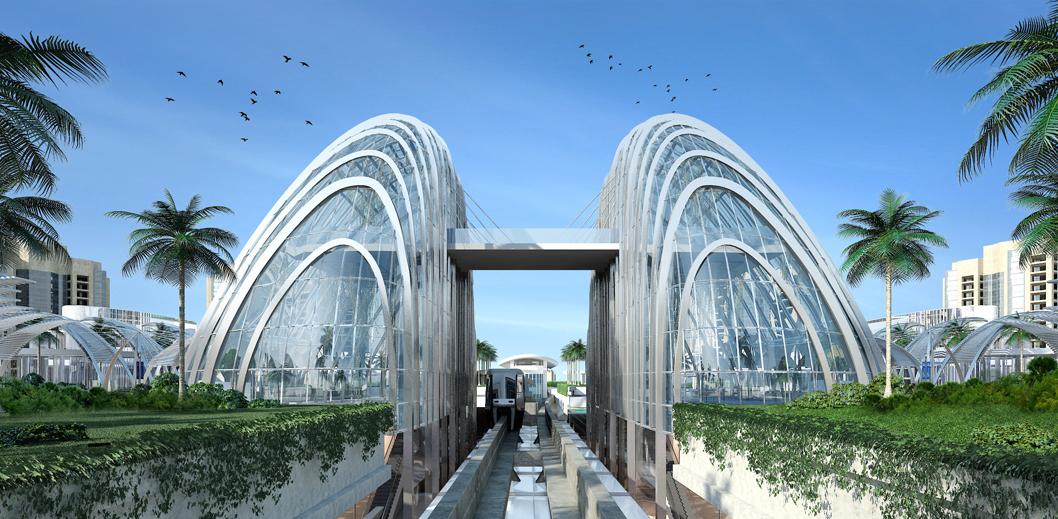 Nakheel Mall Unique Architecture