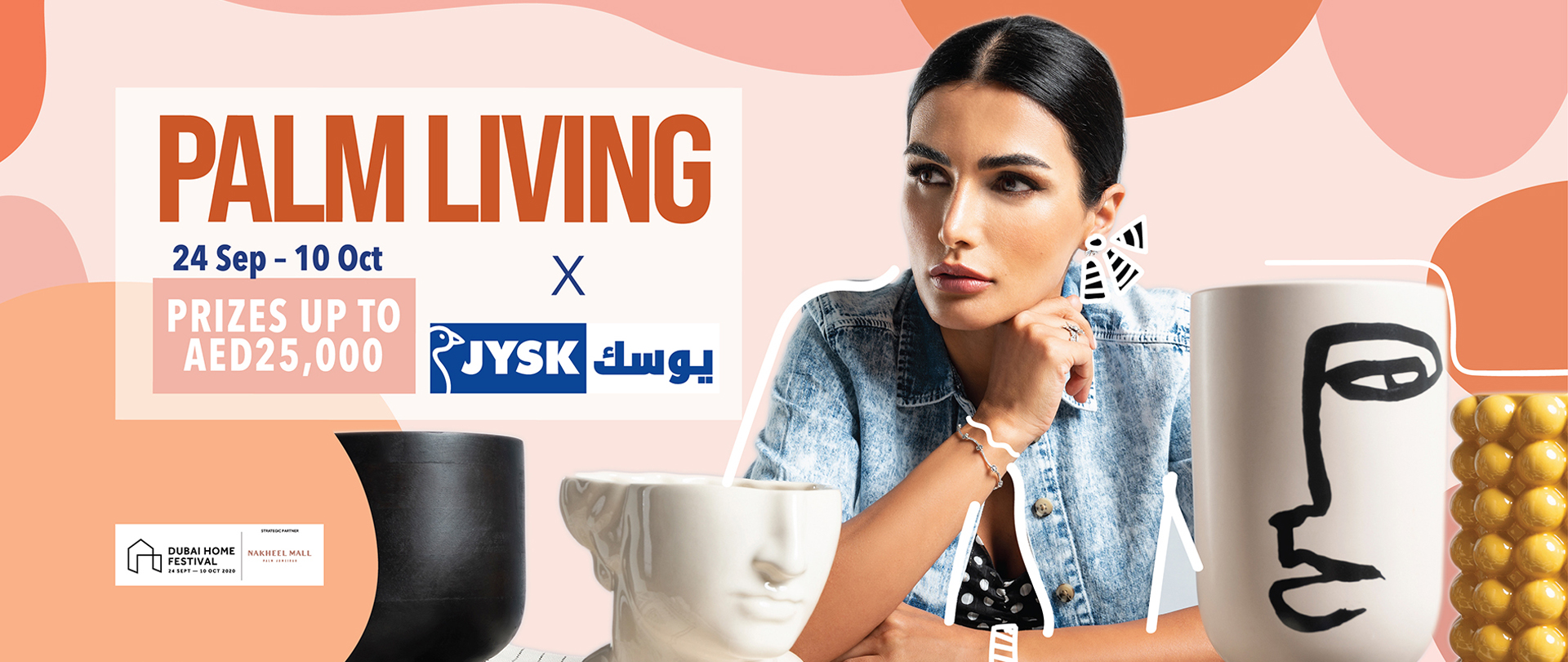 Celebrate Palm Living' at Nakheel Mall and win prizes up to AED 25,000 by JYSK