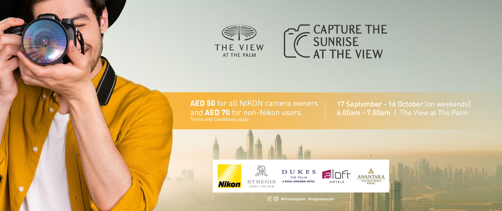Capture the Sunrise at The view