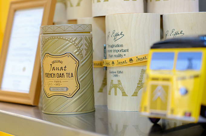 JANAT TEA PARIS <br/> TEA FOR TWO PROJECT