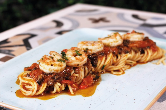 Freshly served authentic Italian dishes
